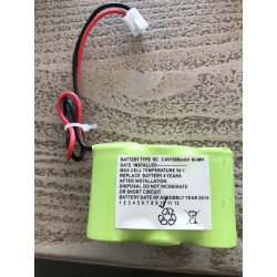 Noodverlichtingaccu NiMh SBS 3,6V-1500mAh met draden en conn.